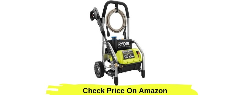 Ryobi 1700 PSI Pressure Washer Review- RY14122