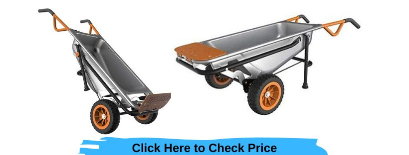 WORX WG050 AeroCart- All Purpose Wheelbarrow Review