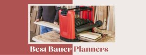 15 amp bauer portable thickness wood planer review