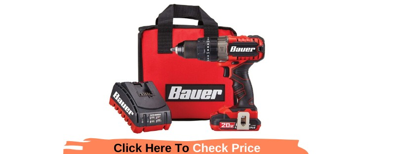 Bauer 20V Hypermax Lithium ½ in. Hammer Drill Reviews