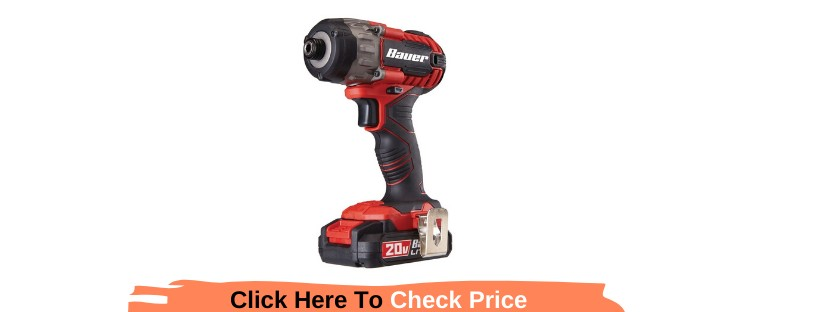 Hypermax Lithium ¼ In. Compact Bauer Impact Driver Review